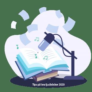 bra ljudböcker på svenska
