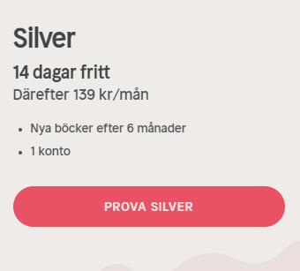 nextory silver